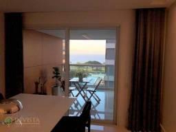 Apartamento com vista para a Beira Mar, mobiliado com 3 suítes.