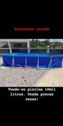 Vende- se piscina 10 mil litros