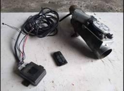 Difusor de escape universal com controle remoto