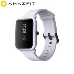 Amazfit bip relógio inteligente com GPS cinza