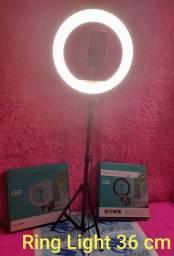 Ring light 36cm novo!