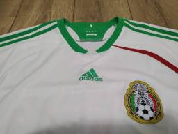 Camisa Seleção do México Adidas Away 2008