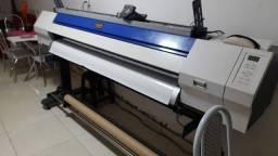Máquina impressão.