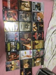 Pacote com 22 DVDs originais!