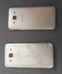 2 celulares j5 16gb cada