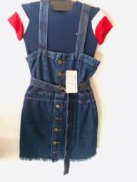 Vestido Jeans Com Tag