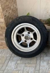 Roda com pneu 15? Gauchinha p Buggy/Bugri