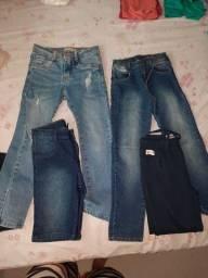 Calça,bermuda jeans infantil menino