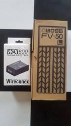Boss FV-50  direct box passivo WDI600 250reais