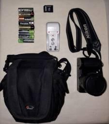 Câmera fotográfica Nikon L110 em ótimo estado