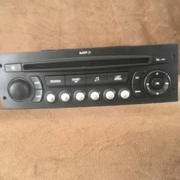 Rádio MP3 Original Citroen C4 Pallas Funcionando Perfeitamente com Lacre