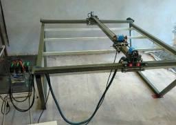 Estrutura Cnc 1800x1800mm (plasma,laser,router) + Eletrônica
