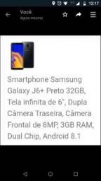 Samsung J6 Plus Topissimo , sem detalhes