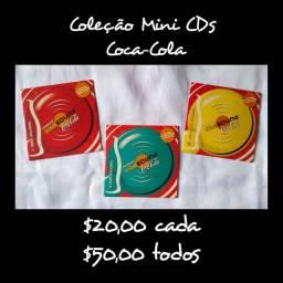 Colecionador - Coleção Mini CDs Coca-Cola