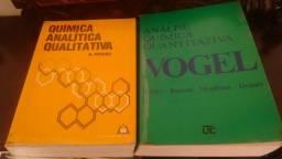 Livros de Química: Análise Quantitativa e Analítica Qualitativa - VOGEL