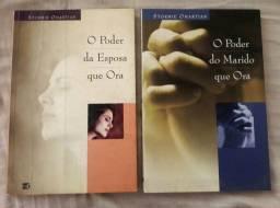 """2 Livros """"Oração"""" Casais"""
