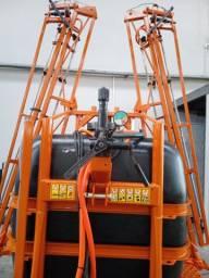 Pulverizador semi novo reformado 600 litros 12 metros de barra