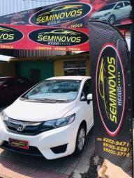 OFERTA HONDA FIT LX 1.5 // 2014/2015 AUTOMÁTICO VEJA NA SEMINOVOS VEÍCULOs