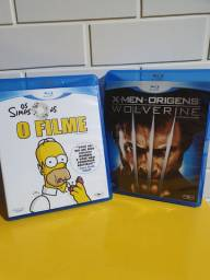 "Blu-ray ""Os Simpsons"" e ""Wolverine"""