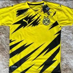 Camisa Borussia Dortmund temporada 20/21