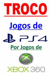 Troco jogos de PS4 Lacrados por Jogos X-Box 360 Semi-Novos
