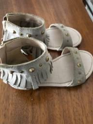 Sandália infantil ZARA
