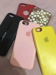 Vendo capinhas para IPhone 6, 6s - semi novas