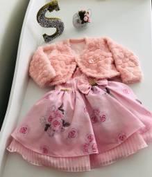 Vestido de Festa - Rosa