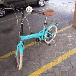 Bicicleta Dobrável Modelo Echo Vintage