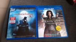 Blu-ray 3D e 2D Anjos da Noite e Abraham Lincoln