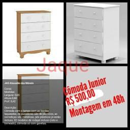 Cômoda Junior/ Montagem Grátis.