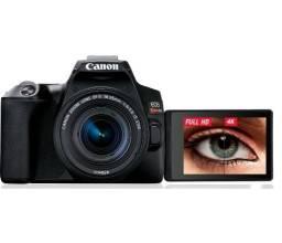 SL3 4K nova + lente 18-55mm câmera canon melhor que sl2 t5i 5d 6d. Só falo whats