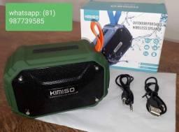 Novo Caixinha de Som Bluetooth portátil Kimiso KMS-112