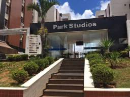Aluguel de kitnet/Stúdio, 26m2, mobiliada, Condomínio Park Stúdios, no Park Sul, Guará-DF