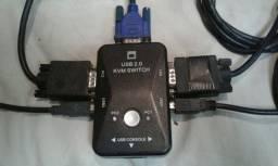 USB 2.0 KVM SWITCH
