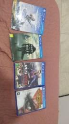 4 JOGOS PS4 (ORIGINAIS)