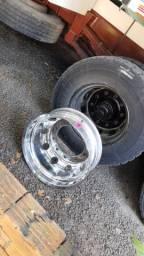 Roda de alumínio alcoa borda larga os