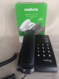 Telefone Fixo C/fio Intelbras - Casa,escritórios E Empresas - Novo
