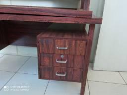 Mesa de escritório madeira pura