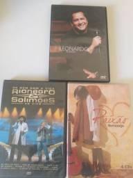 2 DVDs e conjunto de 4 CDs