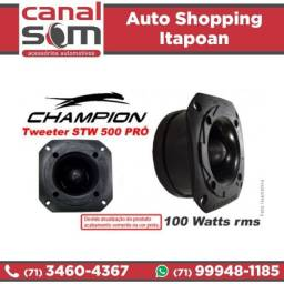 Tweeter Champion Canal Som (instalação Grátis)