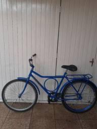 Bicicleta monark barra circular aro 26, freio torpedo, de barbada