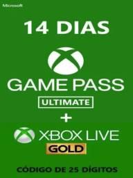 Assinatura Xbox Live Gold 14 dias