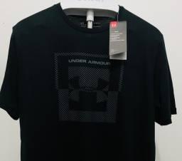 Camiseta Under Armour Importada Logo