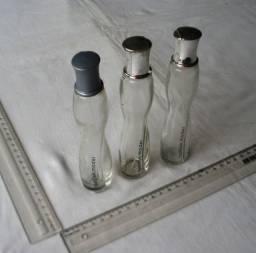 Colecionáveis - Lote de 3 Frascos de Vidro Vazios - Perfume Avon - Fashion Model