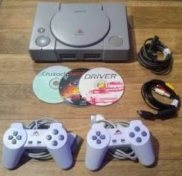 Playstation 1 Fat Completo Top!!!