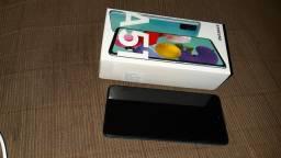 Samsung A51 na caixa