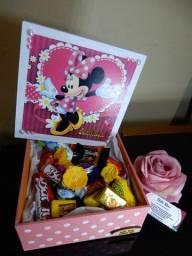Caixa da Minnie em MDF