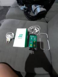 Samsung j2 core novo na caixa com todos assessórios.