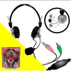 Fone de ouvido headset